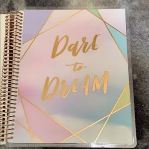 Dare to dream- 12 month laminated planner
